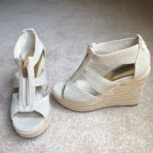 Mk wedges cream
